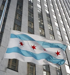 Bandera de Chicago