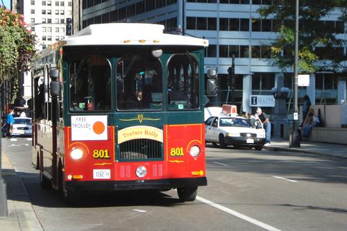 Chicago trolley