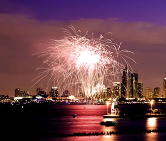 Chicago Fuegos Artificiales 4 de julio