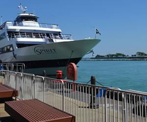 Paseos en bote desde Navy Pier Chicago
