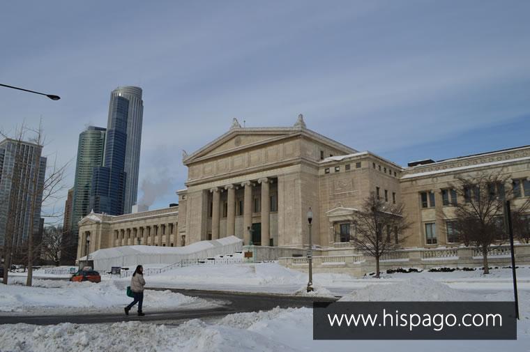 Frente del Museo Field de Ciencias Naturales – Enero 2014