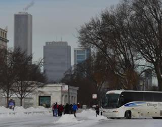 Viajar a Chicago durante el invierno