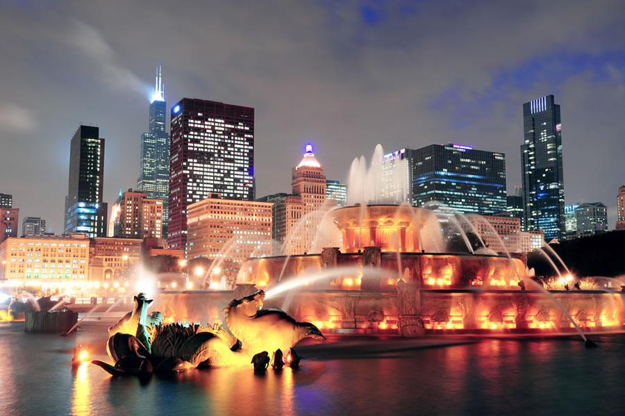 Chicago para enamorados Fuente de Buckingham