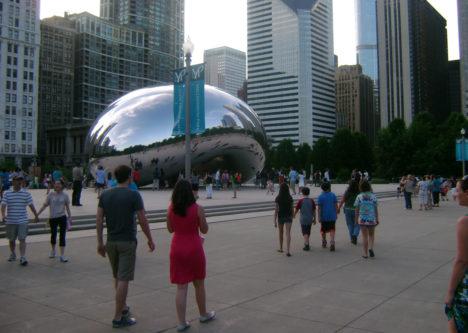 El Millennium Park es ahora la atracción más visitada de Chicago