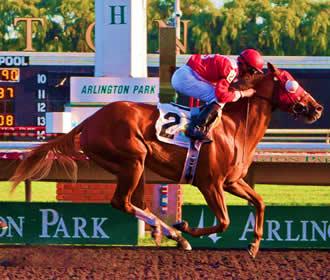 Carrera de caballos del millon Arlington
