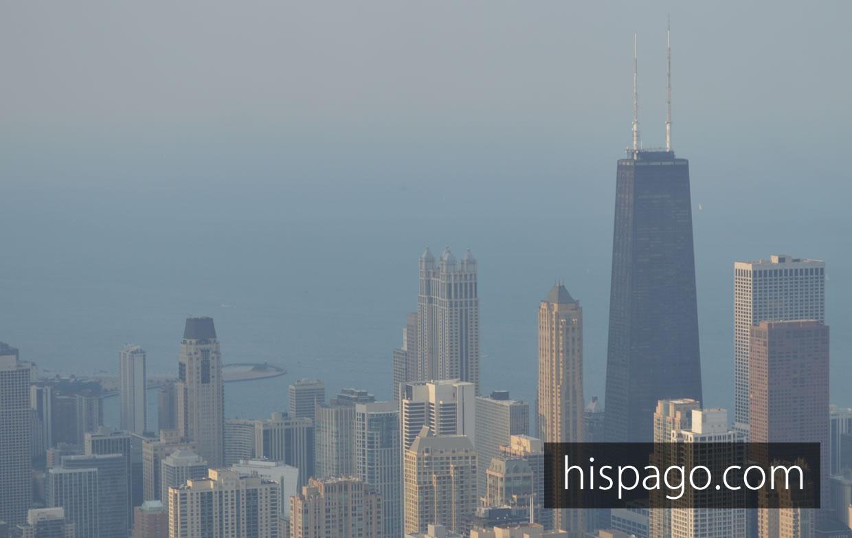Subir a la Torre Willis en Chicago vista norte