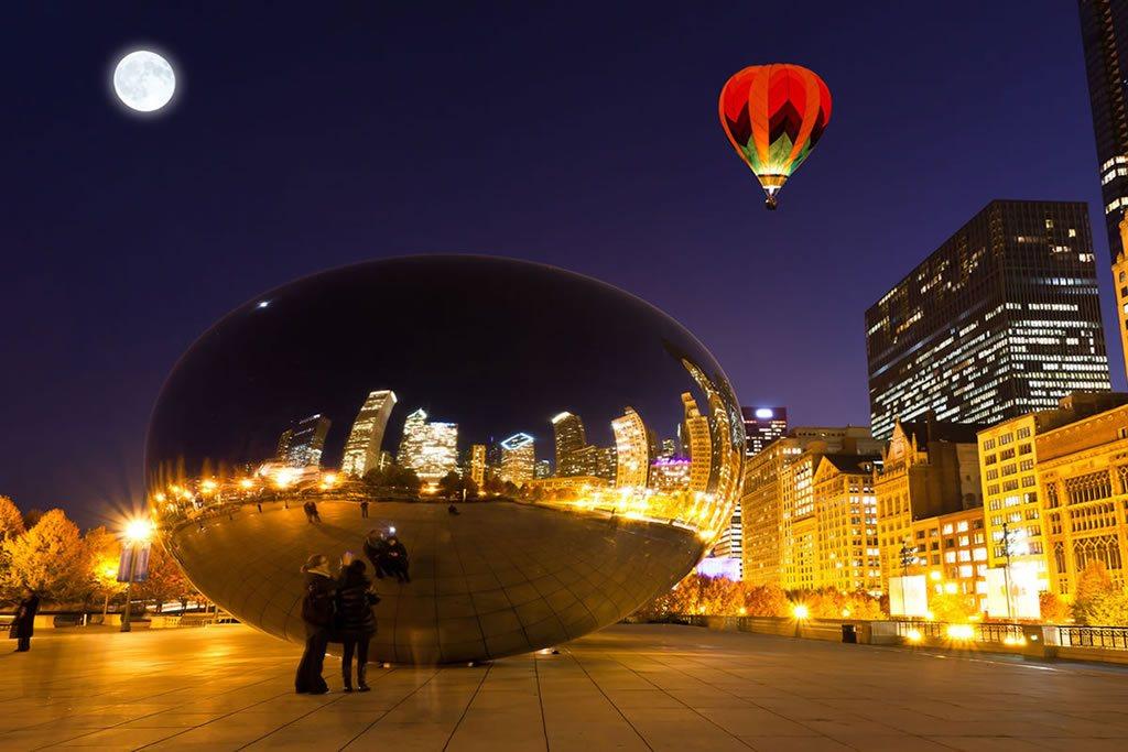 Escultura Parque del Milenio Chicago